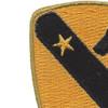 1st Cavalry Division Patch Version C | Upper Left Quadrant