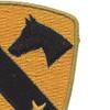 1st Cavalry Division Patch Version C | Upper Right Quadrant