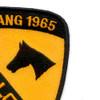 1st Cavalry Division Patch Ia Drang 1965 Lz Falcon Vietnam | Upper Right Quadrant