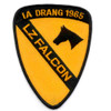 1st Cavalry Division Patch Ia Drang 1965 Lz Falcon Vietnam