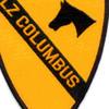 1st Cavalry Division Patch Ia Drang 1965 Lz Columbus Vietnam | Center Detail