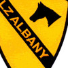 1st Cavalry Division Patch Ia Drang 1965 Lz Albany Vietnam | Center Detail