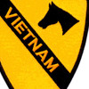 1st Cavalry Division Patch - Angry Skipper D 2/8 Vietnam | Center Detail