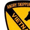 1st Cavalry Division Patch - Angry Skipper D 2/8 Vietnam | Upper Left Quadrant