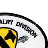1st Cavalry Division Patch | Upper Right Quadrant