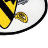 1st Cavalry Division Patch | Lower Right Quadrant