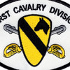 1st Cavalry Division Patch | Center Detail