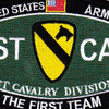 1st Cavalry Division Military Occupational Specialty Rating MOS Patch | Center Detail