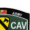 1st Cavalry Division Military Occupational Specialty Rating MOS Patch | Upper Right Quadrant