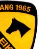 1st Cavalry Division Ia Drang 1965 Pleiku Patch | Upper Right Quadrant