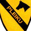 1st Cavalry Division Ia Drang 1965 Pleiku Patch | Center Detail
