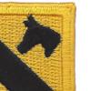 1st Cavalry Division Flash Patch HQ | Upper Right Quadrant