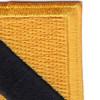 1st Cavalry Div HQ'S Non Airborne Beret Flash Patch #2   Upper Right Quadrant