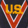 1st Cavalry 1st Group 9th Brigade U.S. Volunteers Patch | Center Detail