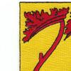 77th Field Artillery Battalion Patch - A Version   Upper Left Quadrant
