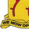 77th Field Artillery Battalion Patch - A Version   Lower Left Quadrant