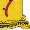 77th Field Artillery Battalion Patch - A Version   Lower Right Quadrant