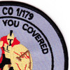 1st Brigade 179th Assault Support Helicopter Company Patch | Upper Right Quadrant