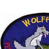1st Battalion Reconnaissance 82nd Aviation Regiment Wolfpack Patch | Upper Left Quadrant