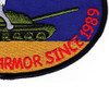 1st Battalion Reconnaissance 82nd Aviation Regiment Wolfpack Patch | Lower Right Quadrant