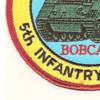 1st Battalion Mechanized 5th Infantry Regiment Patch | Lower Left Quadrant