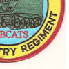 1st Battalion Mechanized 5th Infantry Regiment Patch | Lower Right Quadrant