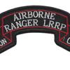 1st Battalion 8th Regiment 1st Cavalry Division Airborne Ranger LRRP Scroll Patch | Center Detail