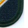 1st Battalion 75th Ranger Regiment Flash Patch   Lower Right Quadrant