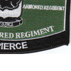 1st Battalion 64th Armored Regiment Military Occupational Specialty MOS Patch | Lower Right Quadrant
