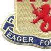 157th Field Artillery Battalion Patch | Lower Left Quadrant