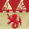 157th Field Artillery Battalion Patch | Center Detail