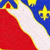 156th Field Artillery Regiment Patch | Center Detail