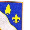 156th Field Artillery Regiment Patch | Upper Right Quadrant