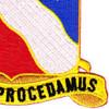 156th Field Artillery Regiment Patch | Lower Right Quadrant