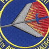 156th Airlift Squadron Patch   Center Detail
