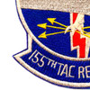 155th Tac Recon Squadron Patch | Lower Left Quadrant