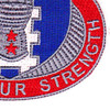 155th Armored Brigade Combat Team Special Troops Battalion Patch STB-61 | Lower Right Quadrant