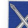 154th Infantry Regiment Patch | Upper Left Quadrant