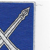 154th Infantry Regiment Patch | Upper Right Quadrant