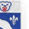 153rd Infantry Regiment Patch | Upper Right Quadrant