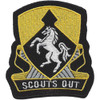 153rd Cavalry Regiment Patch