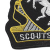 153rd Cavalry Regiment Patch | Lower Left Quadrant