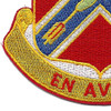 151st Field Artillery Regiment Patch | Lower Left Quadrant