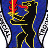7781st Composite Service Brigade Patch Special Berlin Troops | Center Detail