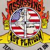 150th Field Artillery Battalion Patch Assassins Team Raiders | Center Detail