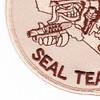 14th Mobile Construction Battalion Air Det Seal Team 14 Patch   Lower Left Quadrant