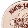 14th Mobile Construction Battalion Air Det Seal Team 14 Patch   Upper Left Quadrant