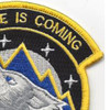 76th Space Control Squadron Patch   Upper Right Quadrant