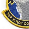 76th Space Control Squadron Patch   Lower Left Quadrant