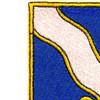 143rd Infantry Regiment Patch | Upper Left Quadrant